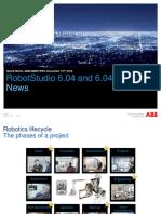 RobotStudio 6.04 News
