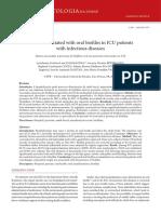 Biopeliculas Orales, Periodontitis e Infecciones Pulmonares