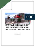 Manual de Operaciones y Funciones del Personal del Sistema TransMiCable Bogotá
