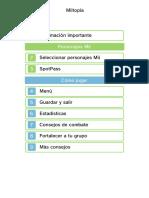 Miitopia 3DS en español