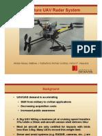 Miniature UAV Radar System