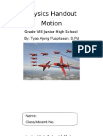 Tyas - Physics Handout Motion
