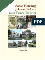 Affordable Housing Task Force 2008