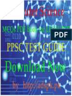 Computer Science MCQs Papers PDF Book 2017 for Lecturer PPSC Test Guide Download Now by Adspk
