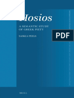 (Mnemosyne Supplements_ Monographs on Greek and Latin Language and Literature 387) Saskia Peels - Hosios_ A Semantic Study of Greek Piety-Brill Academic Publishers (2016).pdf