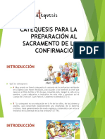 CATEQUESIS DE CONFIRMACION - INTRODUCCION