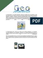 La Geoinformática