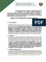 Manual de Operación y Mantenimiento de Alcantarillado Gadma v2