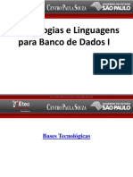 Aula I - Introduçao a BD- TLBD - I