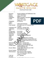MOA Sample Audit