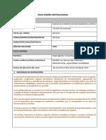 Ficha de diseño instruccional