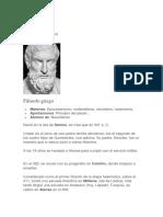 Biografía Epicuro