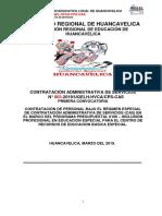 Bases Cas 003-2019 Ugel - Huancavelica