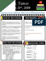 Weekly Update March 21st.pptx