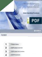 Airbus Green Operating Procedures