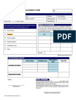 PGMA Employee Clearance Form