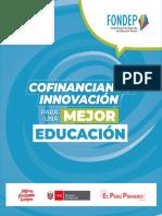 Brochure 2019 del FONDEP