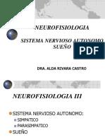 Sistema Nervioso Autónomo y Sueño