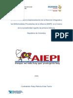 Modelo de Atención a La Primera Infancia AIEPI