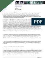 La Savia - Conflicto Organización y Sujeto
