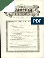 architecture record 1910-09