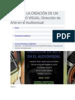 Temario Concepto Visual (CINE)