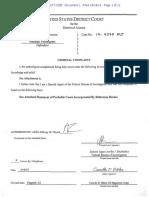 Marshall Pendergrass federal criminal complaint