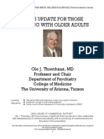 Dm-5 Changes to Geriatric Practice
