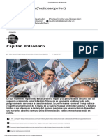 Capitán Bolsonaro - El Mostrador