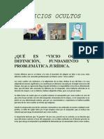 VICIOS OCULTOS