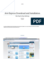 Aris Express Download Und Installation