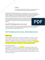 IELTS Reading Overview