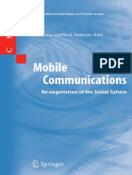 [Computer Supported Cooperative Work 31] Rich Ling, Per E. Pedersen (auth.) - Mobile Communications_ Re-negotiation of the Social Sphere (2005, Springer-Verlag London).pdf