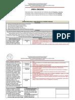 Cartel de Competencias y Desempenos Ingles v Ciclo