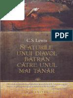 Sfaturile unui diavol batran catre unul mai tanar -- C. S. Lewis