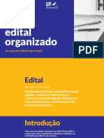 E-book Edital Organizado