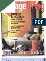 Cottage Living Jan-Feb 2006