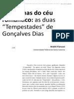 """4. OLHARES - 1. ANDRÉ FIORUSSI - Nas Furnas Do Céu Romântico as Duas """"Tempestades"""""""