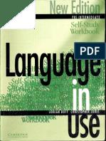 Language in Use - Pre-Intermediate - Self-Study Workbook