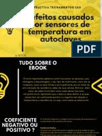 Defeitos de Sensores de Temeratura