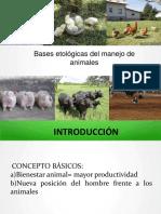 Bases Etologicas Para El Manejo Animal en Agroecologia2.Pptx [Reparado]
