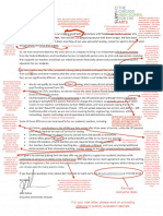 Annotated Letter