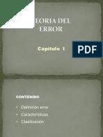 TEORIA DE ERROR (Cap. I).pptx