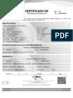 Certificado Propiedad Electronica