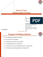 Railway Station & yards PresentationTopic.pptx