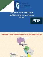 INSTITUCIONES+COLONIALES