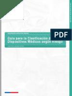 Guia de Clasificacion de Dispositivos Medicos Segun Riesgo Formato Institucional