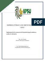Empresa Publica de Servicios Unesum. Curso Auxiliar de Enfermería.