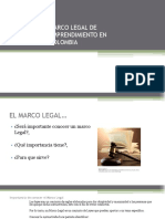 2019-02-17 Marco Legal de Emprendimiento en Colombia