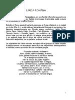 LIRICA ROMANA POEMAS.docx